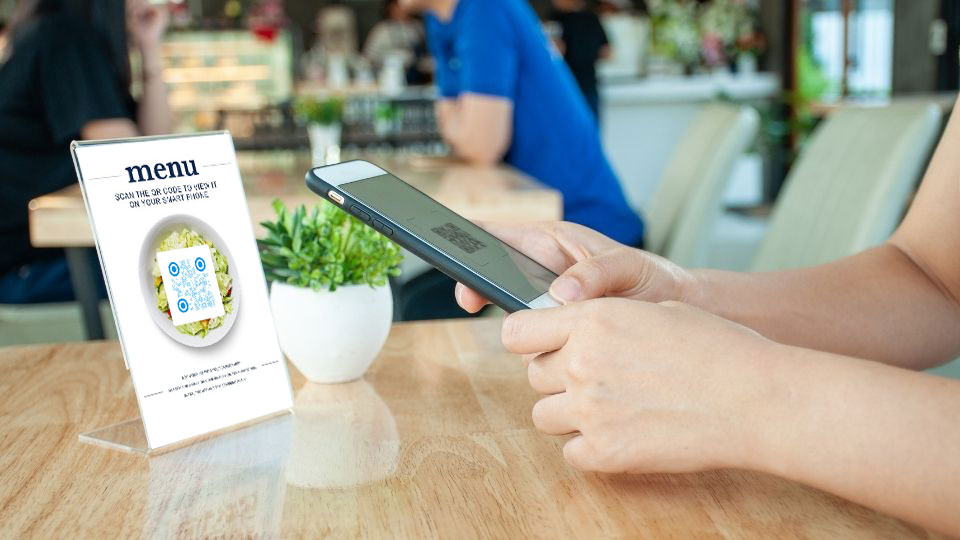 Customer Order on Table Contactless QR Menu